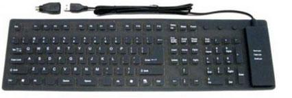 <strong>Flexibel toetsenbord USB / waterdicht</strong>